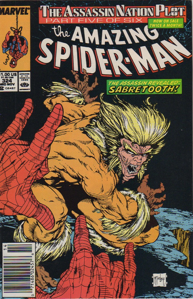 Amazing Spider-Man 324 VF-