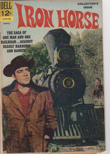 Dell Westerns - Iron Horse 1 VG-