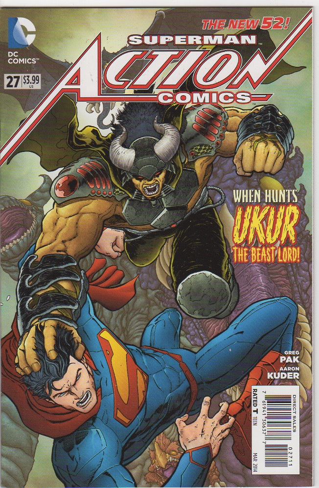 Action Comics Vol 2 - 27 VF+