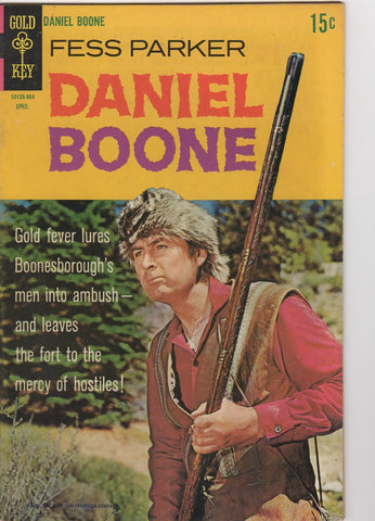 Gold Key Westerns - Daniel Boone  issue 15 - F+