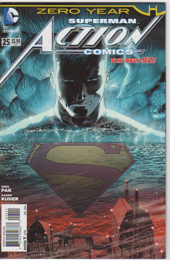 Action Comics Vol 2 - 25 VF+
