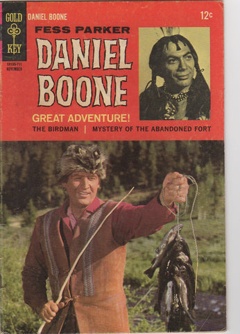 Gold Key Westerns - Daniel Boone  issue 11 - F+