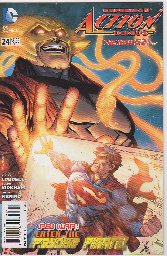 Action Comics Vol 2 - 24 VF+