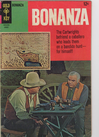 Gold Key Westerns - Bonanza issue 29 - F+