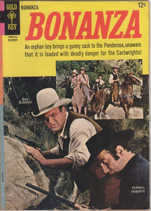 Gold Key Westerns - Bonanza issue 11 - F+