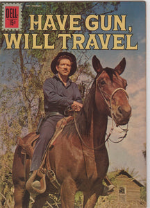 Dell Westerns - Have Gun Will Travel issue 12 - F+