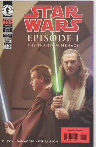 Star Wars Episode 1 The phantom Menace 1 VF+