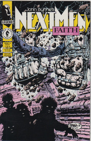 John Byrne's Next Men 19 VF+