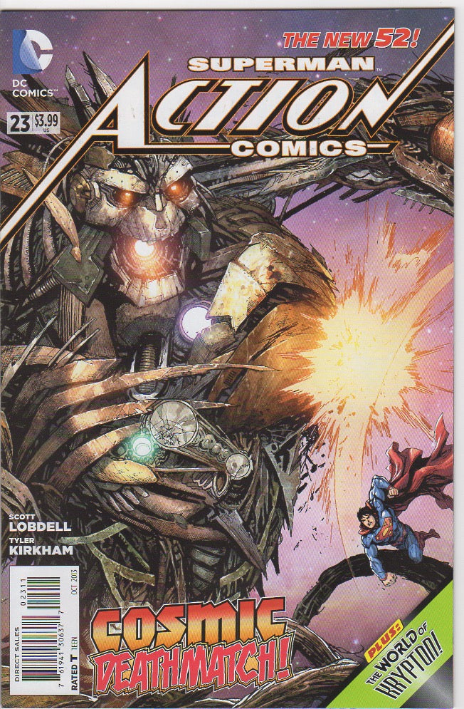 Action Comics Vol 2 - 23 VF+