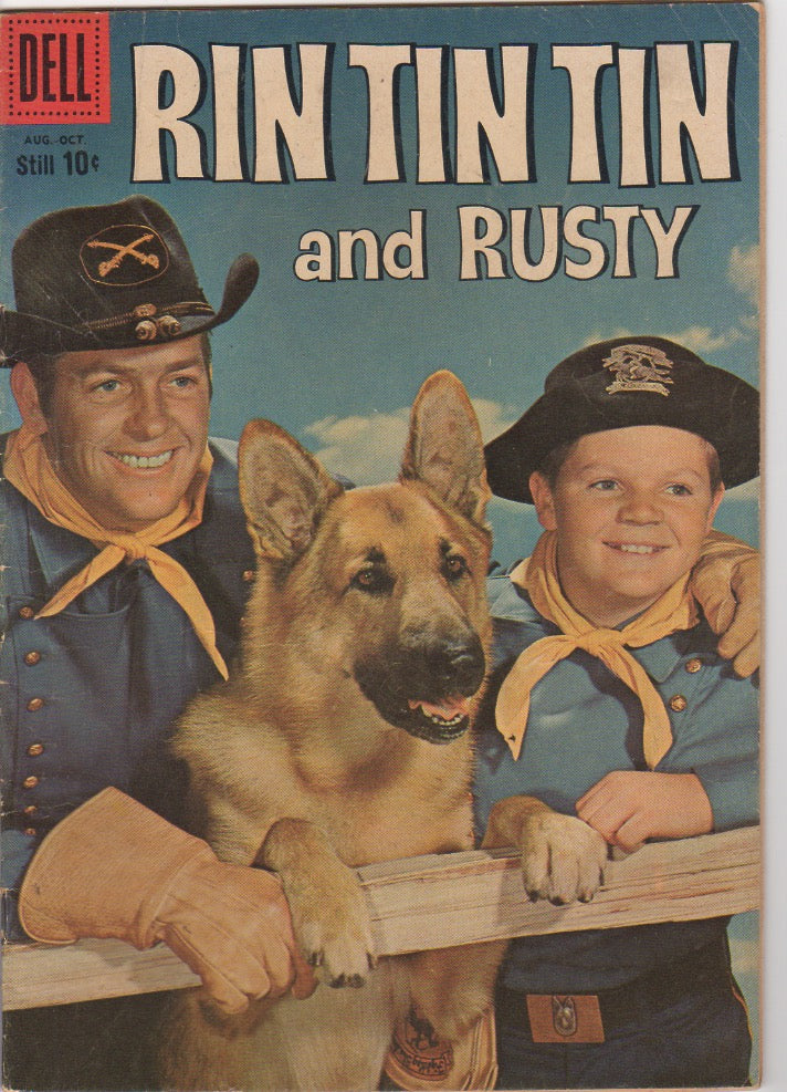 Dell Westerns - Rin Tin Tin and Rusty issue 31 - VG+
