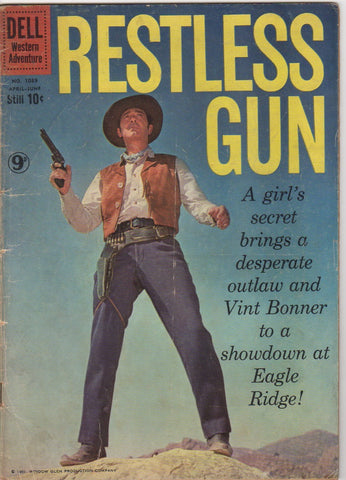 Dell Westerns - Restless Gun issue 1089 - VG