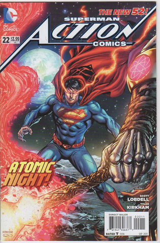 Action Comics Vol 2 - 22 VF+