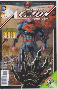 Action Comics Vol 2 - 21 VF+