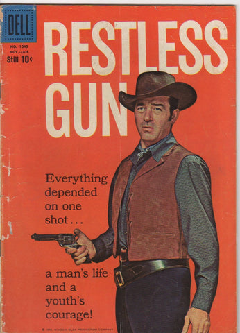 Dell Westerns - Restless Gun issue 1045 - VG