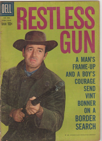 Dell Westerns - Restless Gun issue 986 - F-
