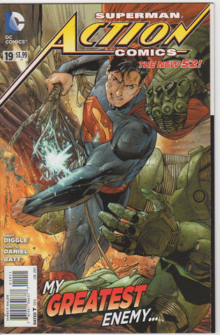 Action Comics Vol 2 - 19 VF+