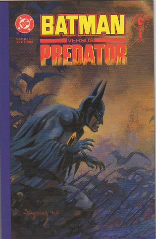 Batman Vs Predator  - issue 1 VF