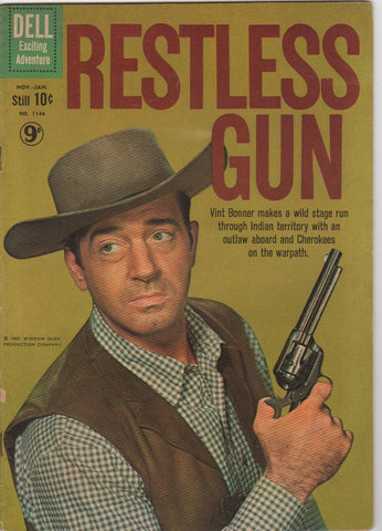 Dell Westerns - Restless Gun issue 1146 - F+