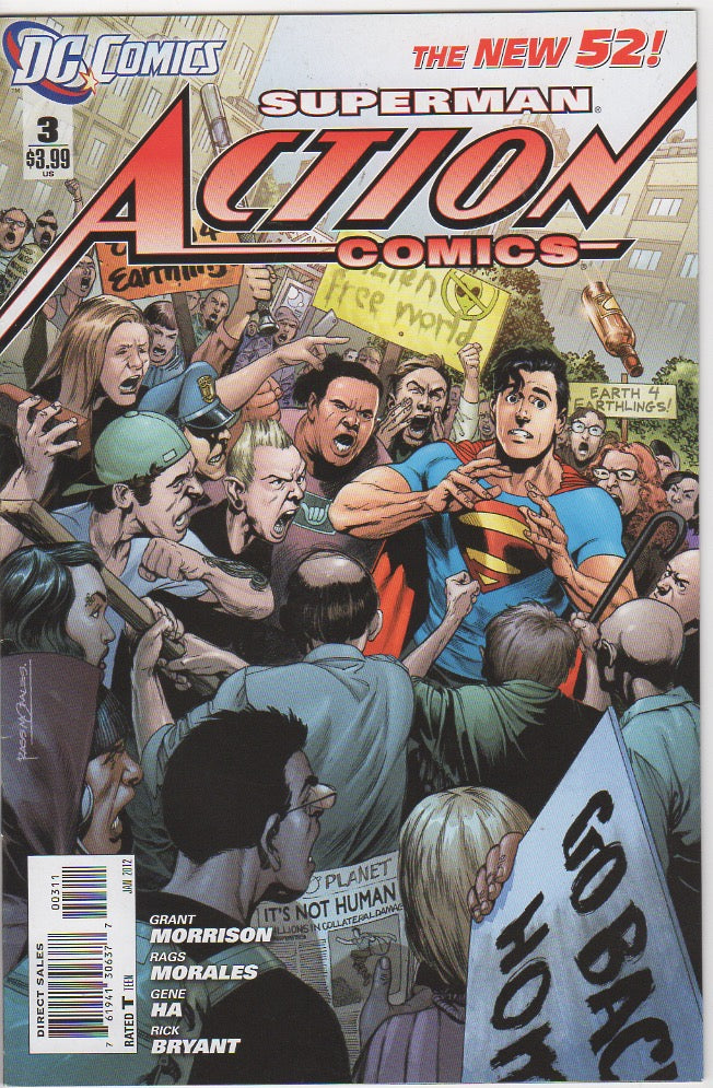 Action Comics Vol 2 - 3 VF+