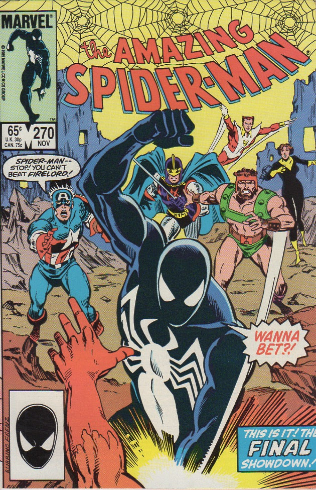Amazing Spider-Man 270 VF-