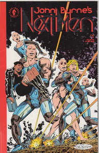 John Byrne's Next Men 1 VF+ First print