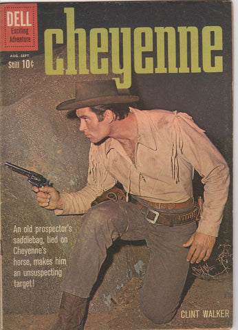 Dell Westerns - Cheyenne issue 17 - F+