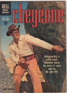 Dell Westerns - Cheyenne issue 15 - F+