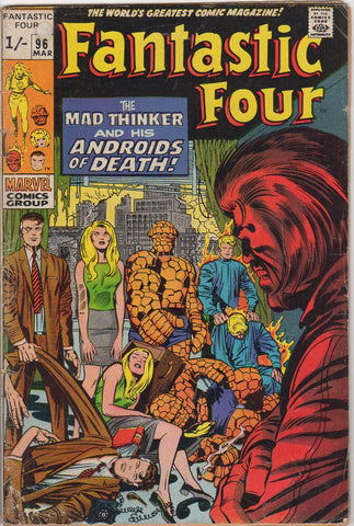 Fantastic Four Vol 1 - 96 VG