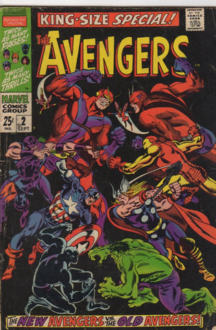 Avengers King size Special 2 VG