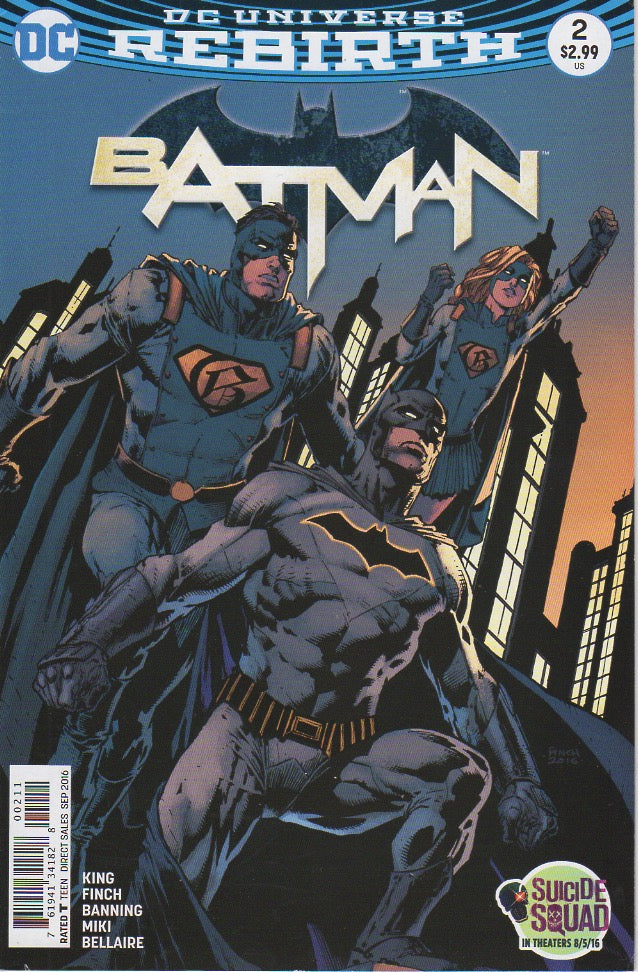 Batman 2016 Rebirth 2 VF