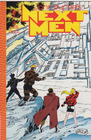 John Byrne's Next Men 8 VF+