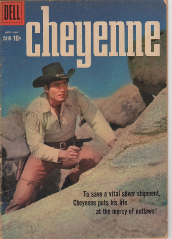 Dell Westerns - Cheyenne issue 13 - VG