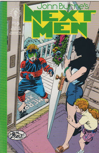 John Byrne's Next Men 10 VF+