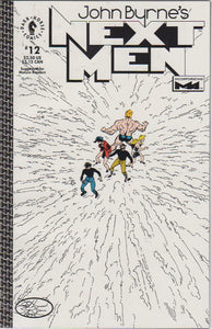 John Byrne's Next Men 12 VF+