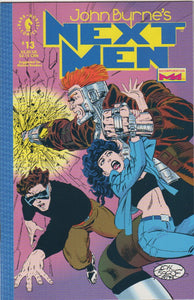 John Byrne's Next Men 13 VF+