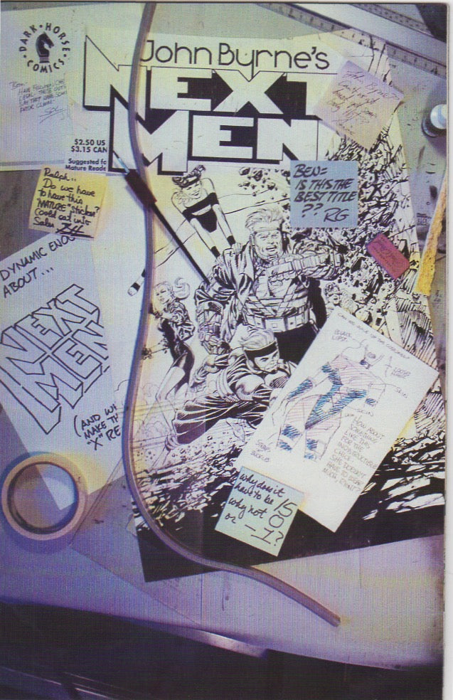John Byrne's Next Men 15 VF+