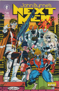 John Byrne's Next Men 16 VF+