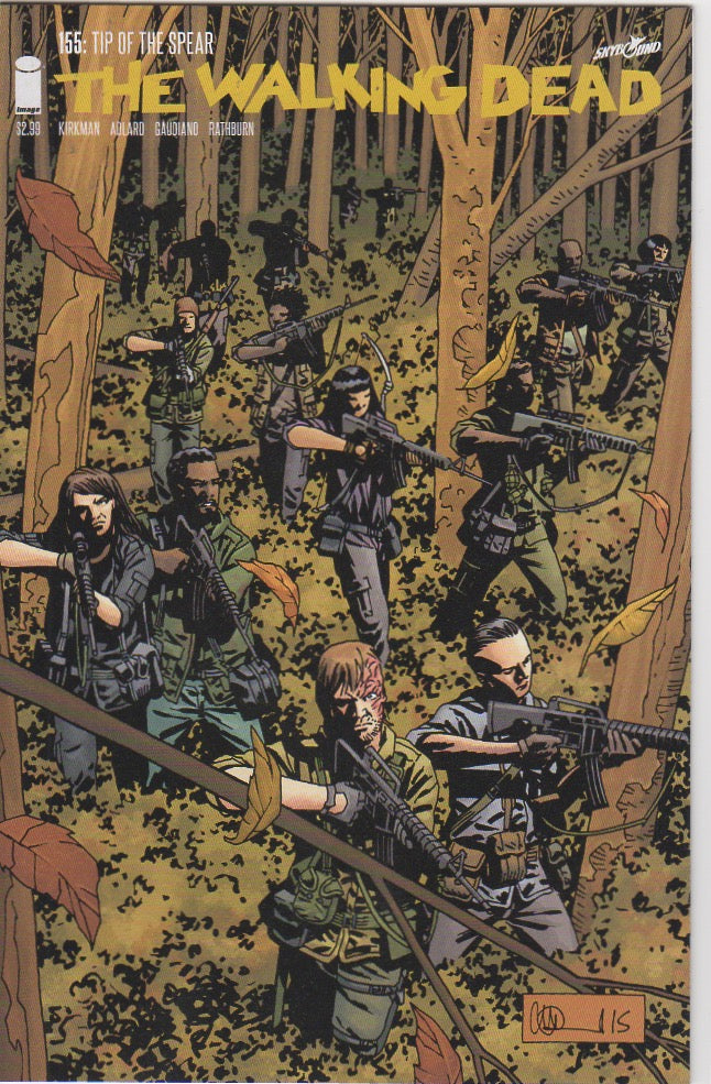 The Walking Dead - 155 VF+