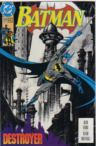 Batman Vol 1 - 474 - VF