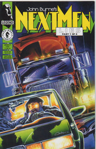John Byrne's Next Men 27 VF+