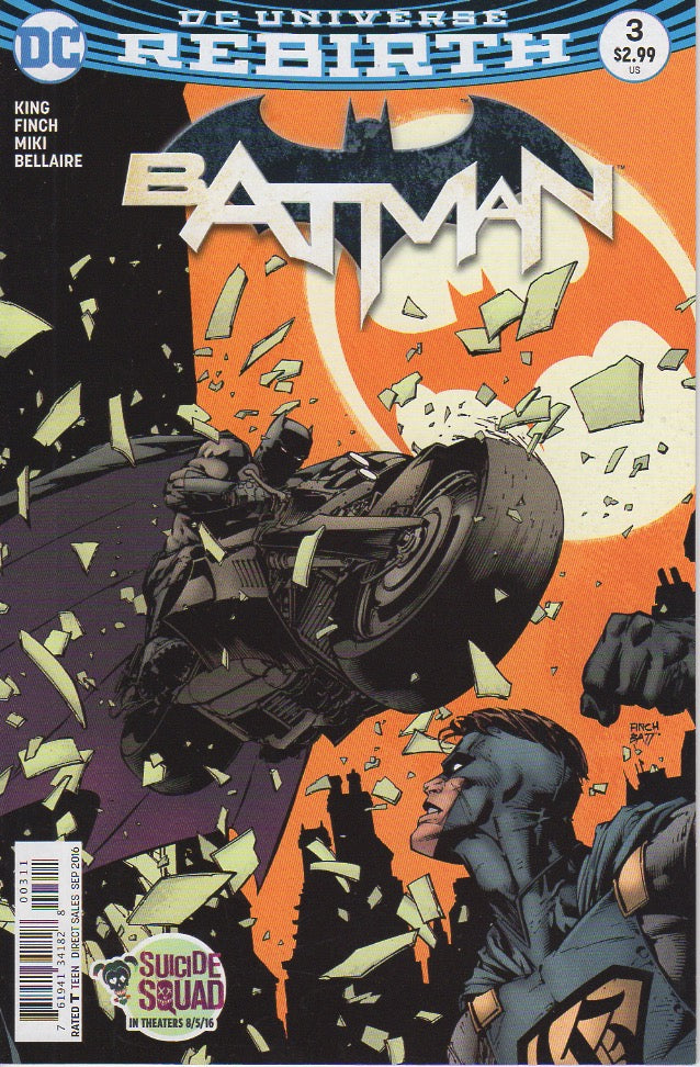 Batman 2016 Rebirth 3 VF