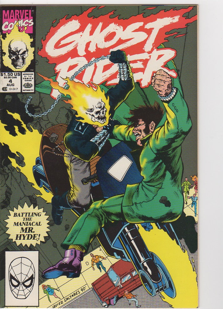 Ghost Rider Vol 2 - 4 VF