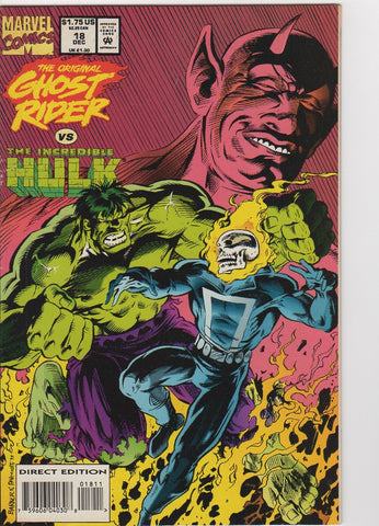 Ghost Rider Vol 2 - 18 VF
