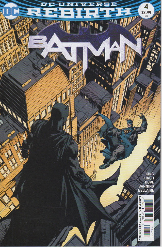 Batman 2016 Rebirth 4 VF