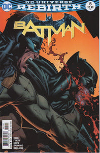 Batman 2016 Rebirth 5 VF