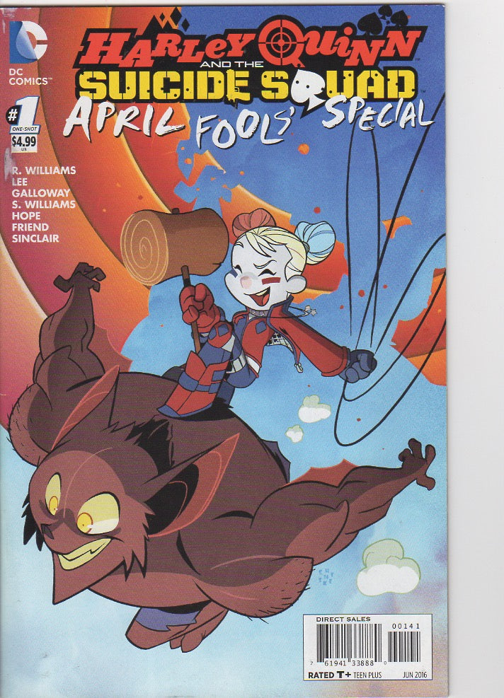 Harley Quinn and the Suicide Squad April fools Special 1 VF