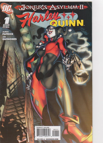 Harley Quinn Jokers Asylum 2 issue 1 VF-