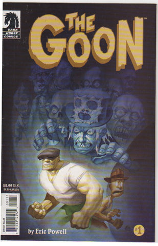 The Goon Issue 1 VF 2003 first print.