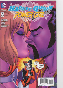 Harley Quinn & Power Girl 4 VF