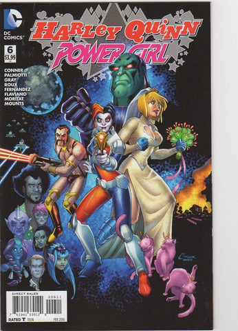 Harley Quinn & Power Girl 6 VF